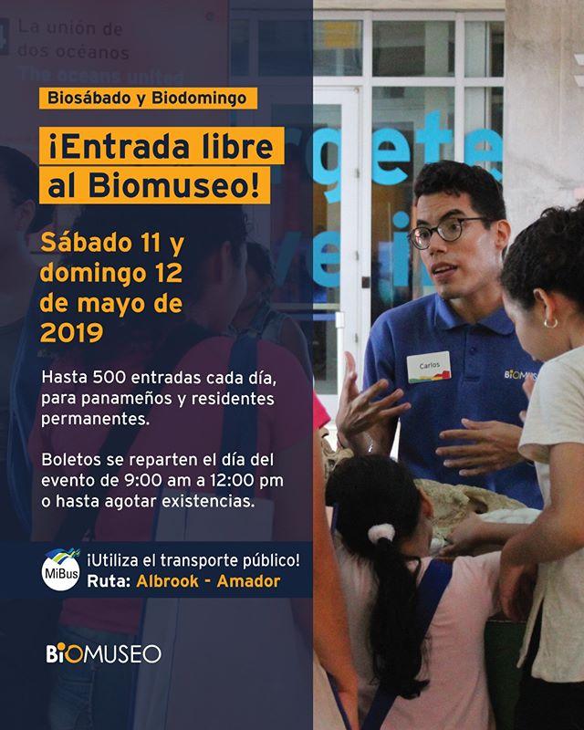 Photo of Entrada Libre al Biomuseo