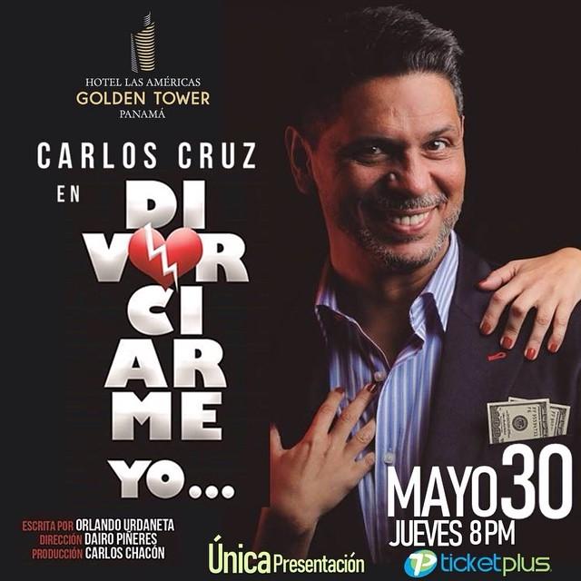 Photo of El actor Carlos Cruz presenta Divorciarme Yo… en Panamá