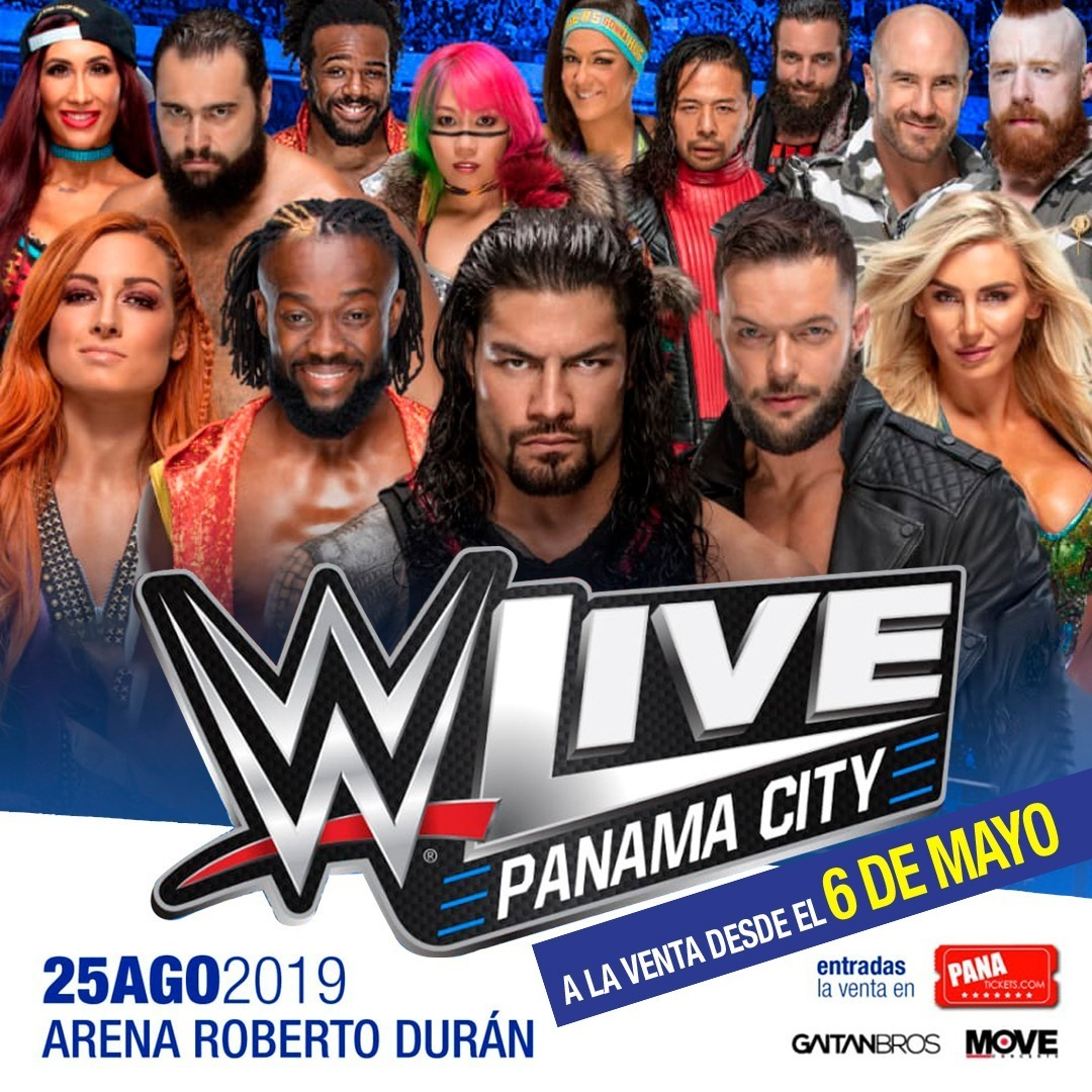 Photo of WWE Live en Panamá City