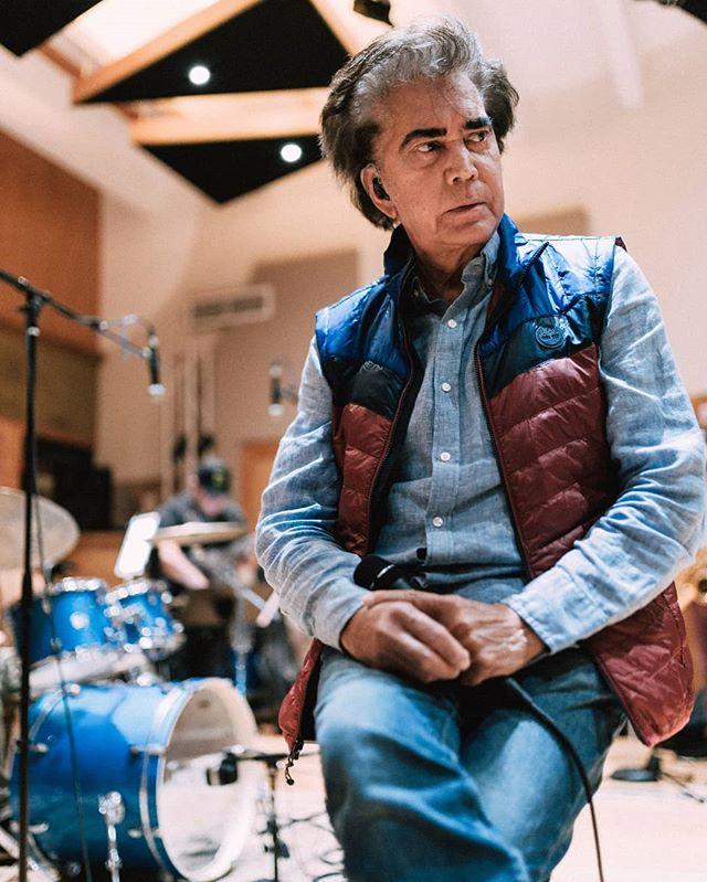 Photo of José Luis Rodríguez afinando detalles para iniciar su gira 'Agradecido Tour'