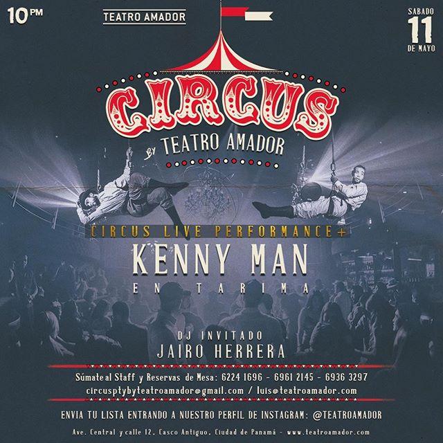 Photo of Teatro Amador presenta 'Circus Party' con Kenny man en tarima