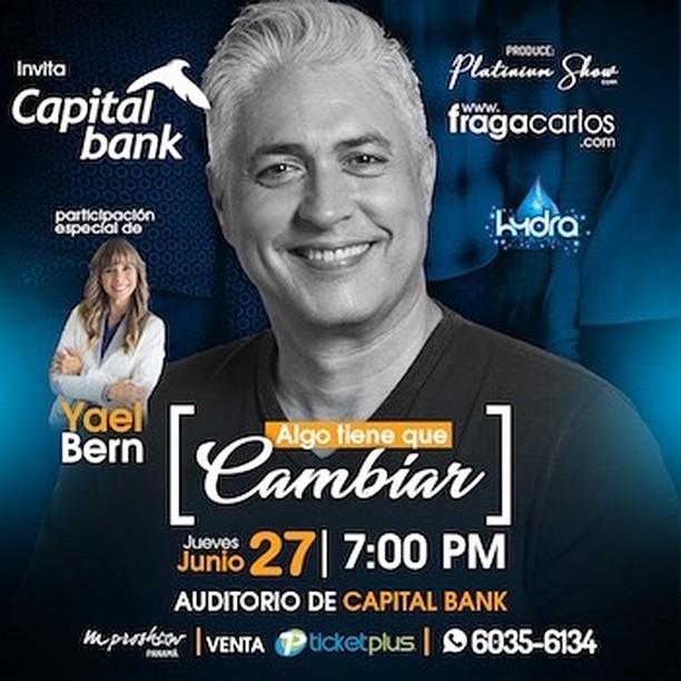 Photo of Carlos Fraga trae a Panamá su conferencia 'Alguien tiene que cambiar'