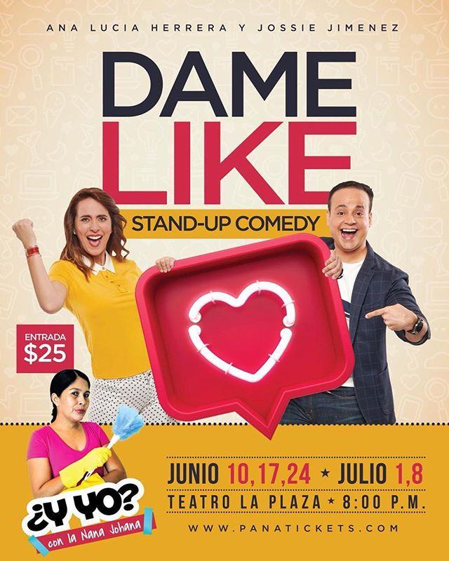 Photo of Ana Lucía y Jossie Jiménez presentan un Stand Up Comedy 'Dame Like'