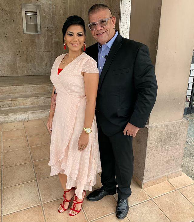 Photo of Rodolfo de León y su novia Tania Rojas contrajeron matrimonio