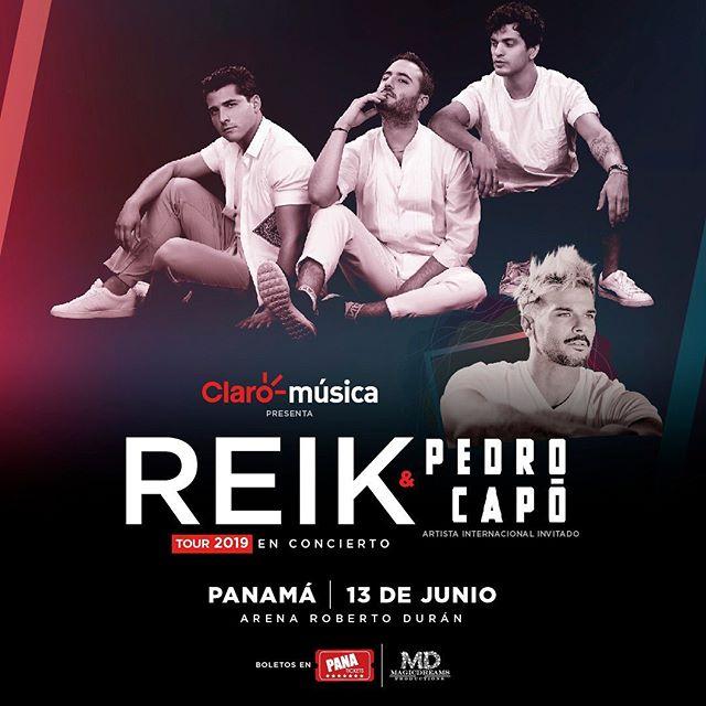 Photo of Pedro Capó es el invitado internacional del concierto de Reik en Panamá