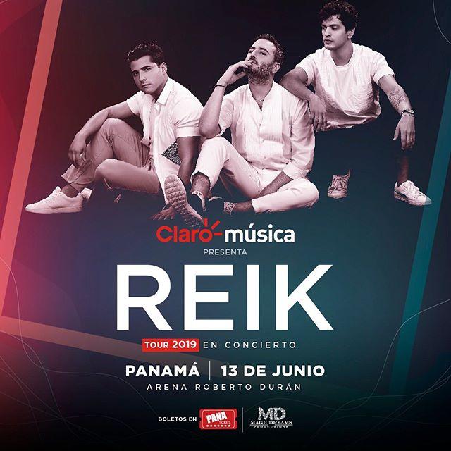 Photo of Concierto de Reik en Panamá