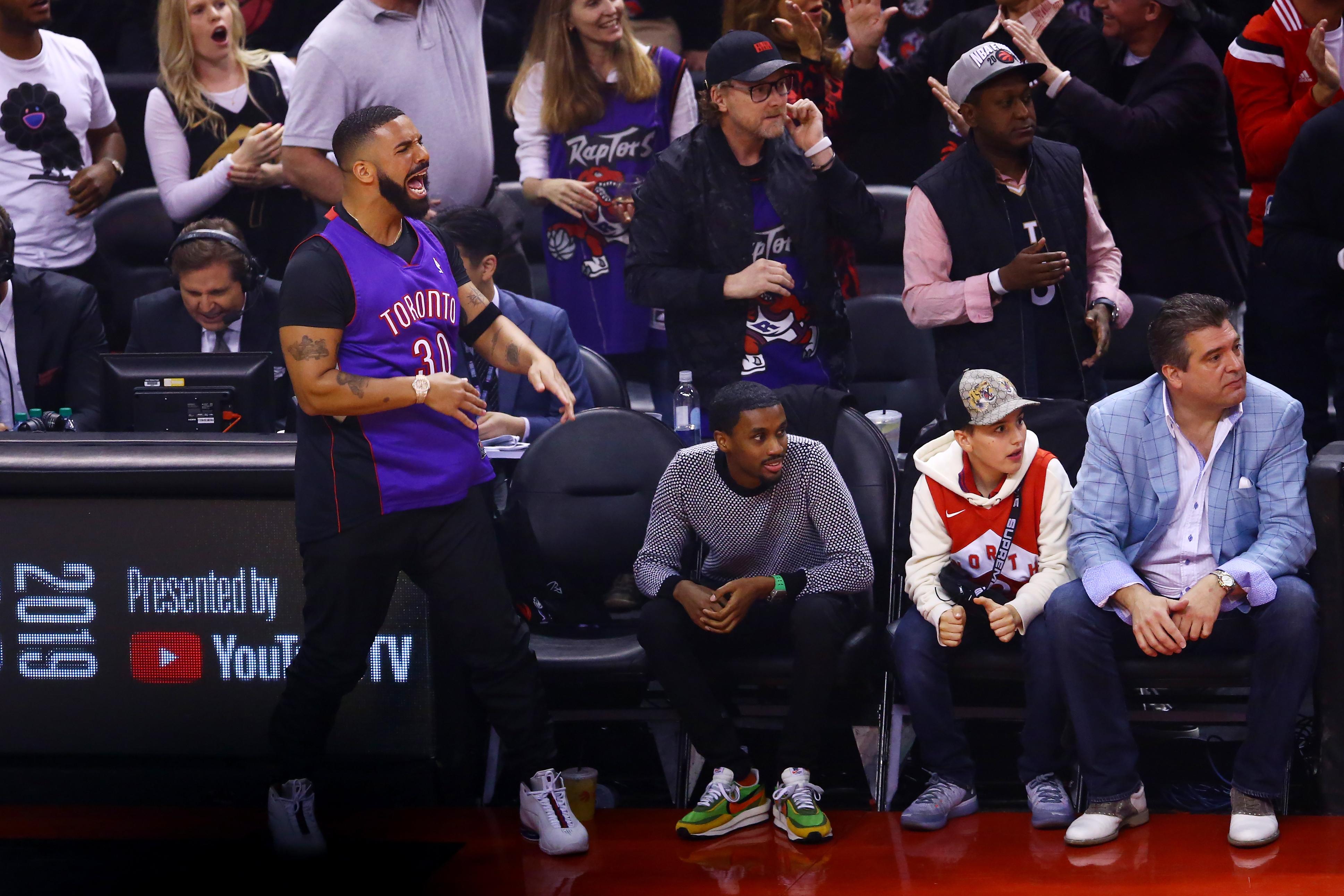 Photo of Drake no controlo su comportamiento en las Finales de la NBA