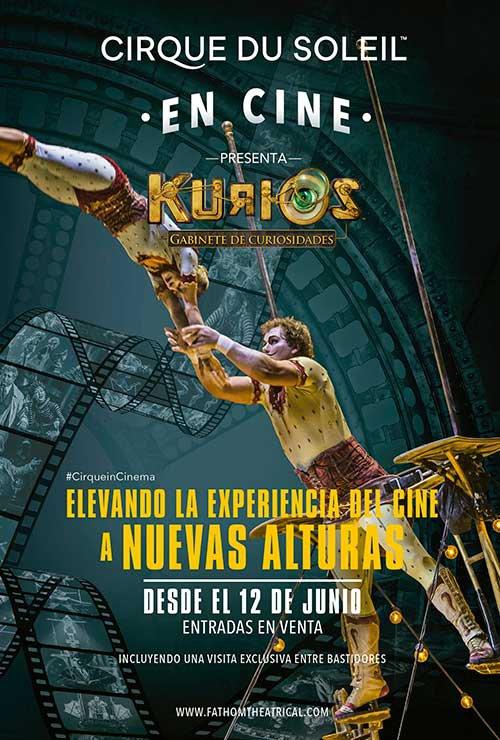 Photo of Pre venta en cines de 'Cirque du Soleil: Kurios Gabinete de Curiosidades'