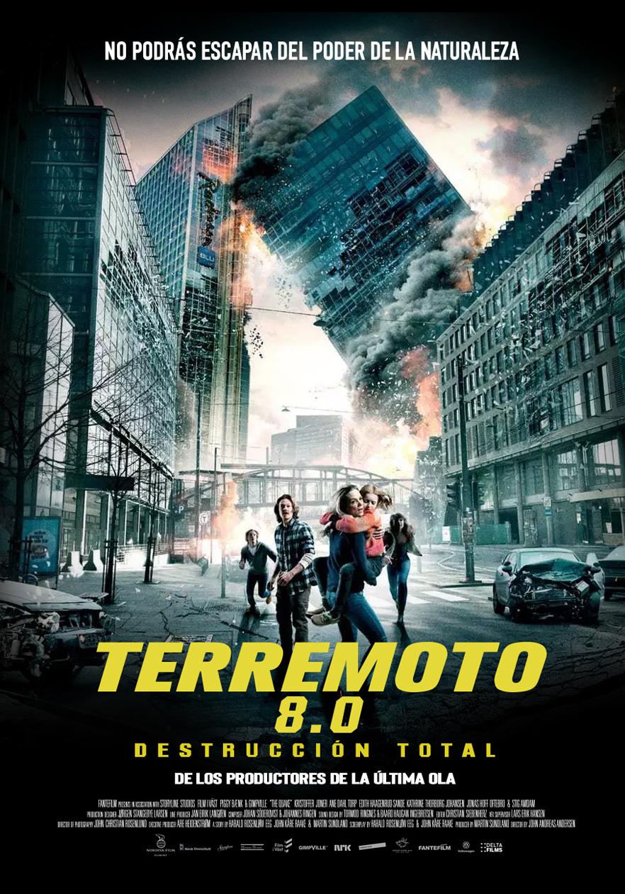 Photo of Estreno de 'Terremoto 8.0' solo en cines