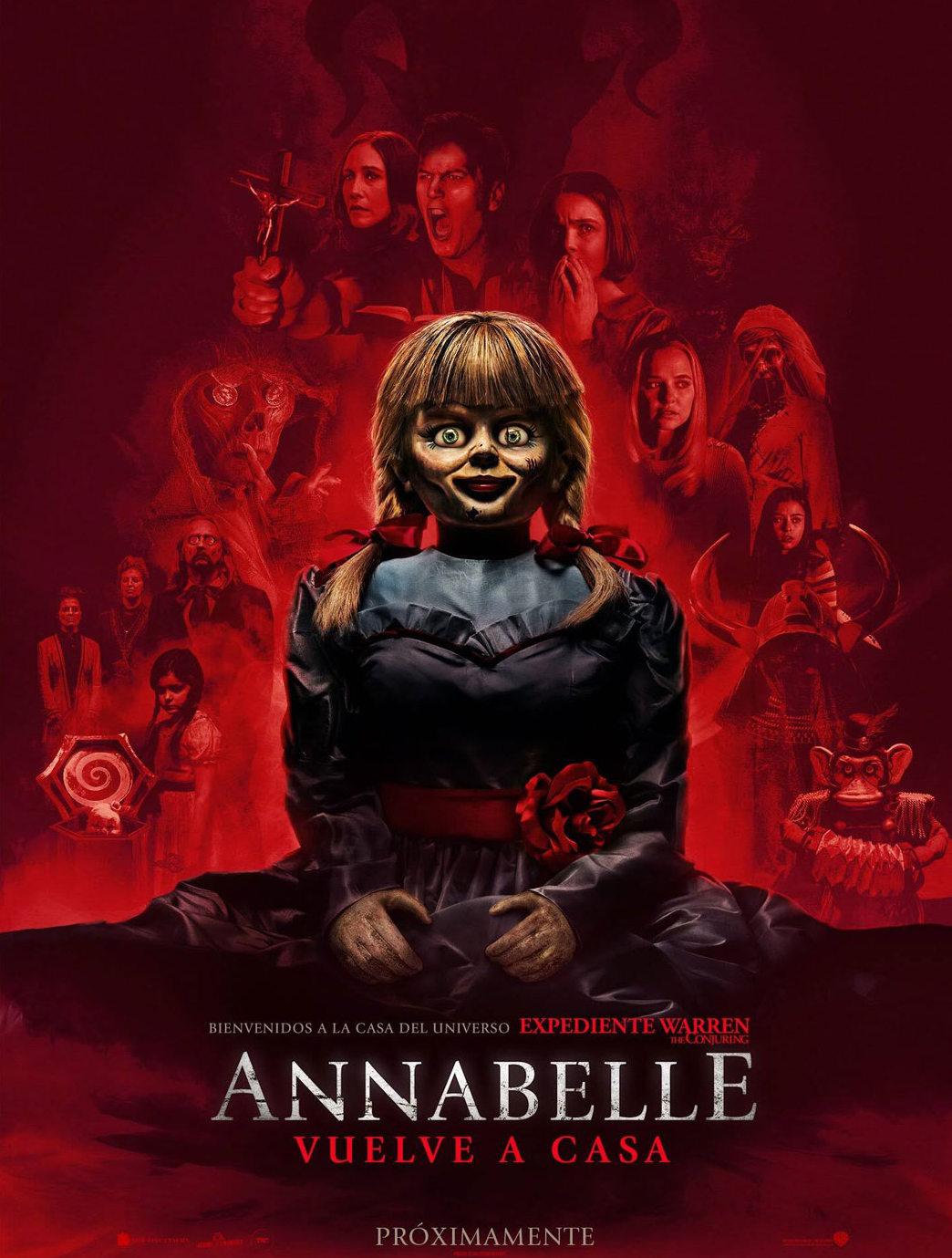 Photo of Pre venta para el estreno de 'Annabelle 3: Viene a casa'
