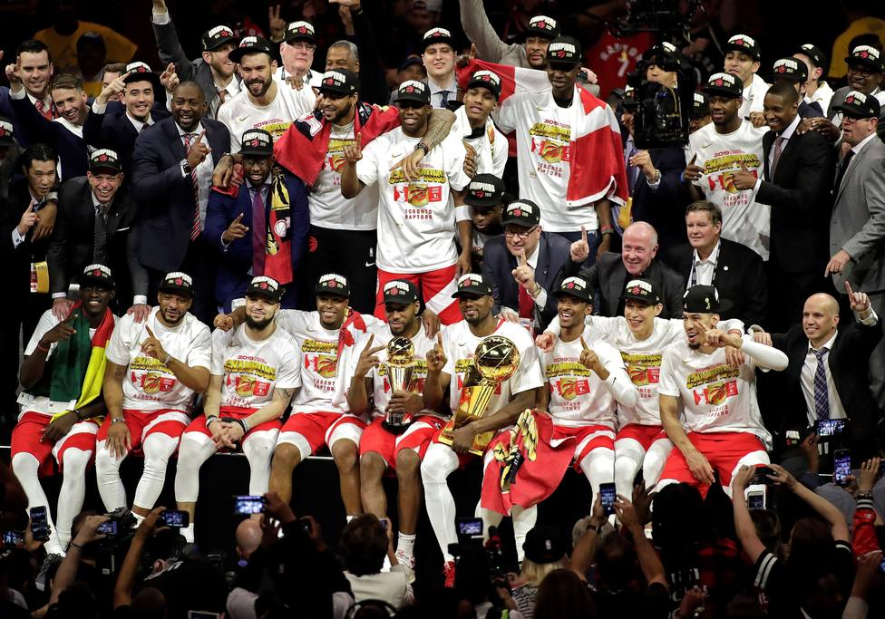 Photo of Raptors de Toronto se coronan como campeones de la NBA