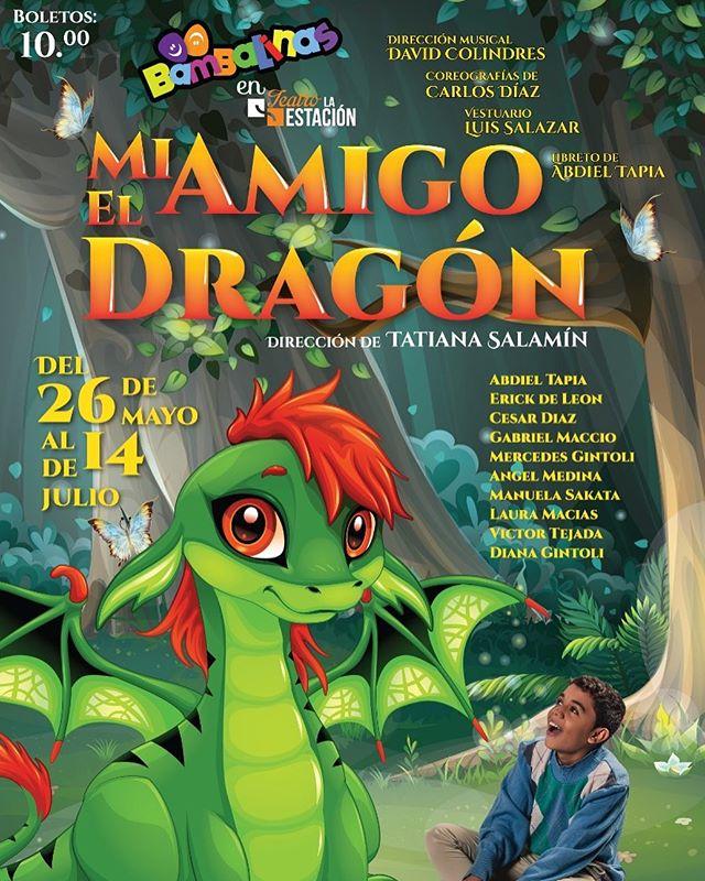 Photo of Teatro la Estación presenta obra infantil 'Mi Amigo el Dragón'