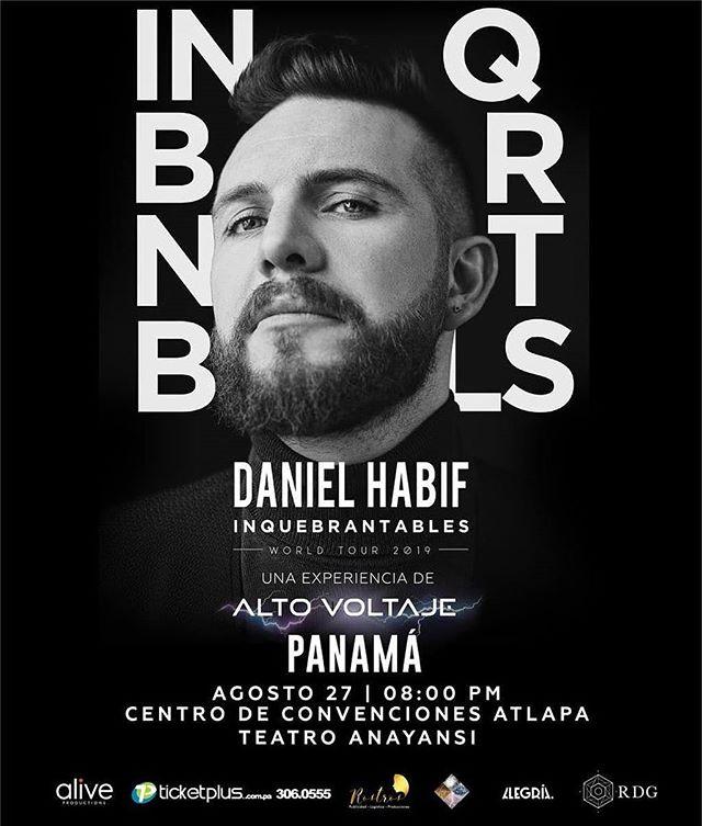 Photo of A la venta boletos para Daniel Habif con Inquebrantables World Tour en Panamá