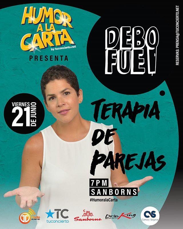"""Photo of Humor a la carta by tuconcierto.net presenta a """"Terapia de Parejas"""" con DeboFue"""