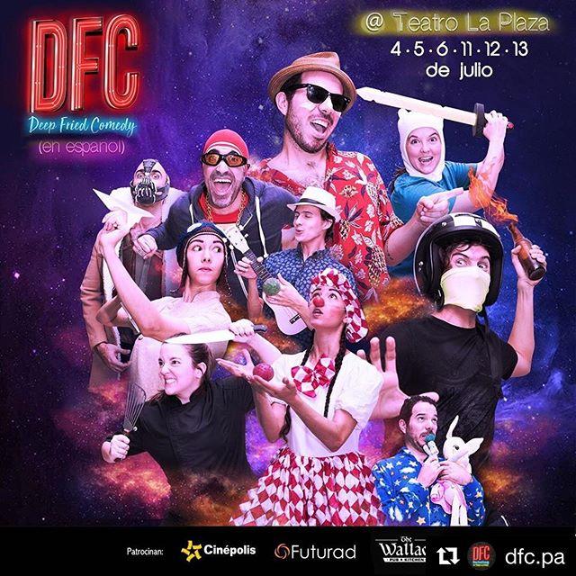 Photo of Deep Fried Comedy PTY presenta una comedia en Español