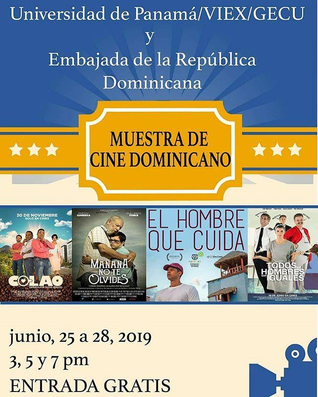 Photo of Muestra de cine Dominicano en Panamá