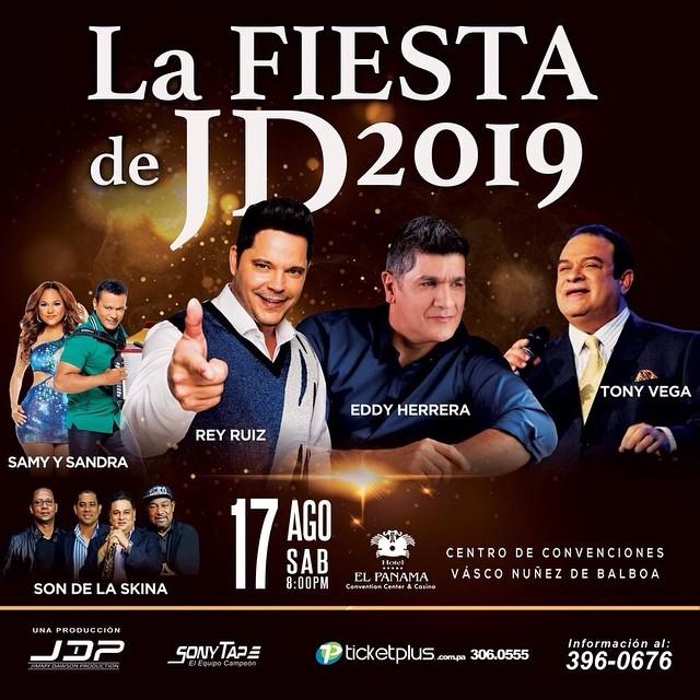 Photo of La fiesta de JD 2019 en Panamá