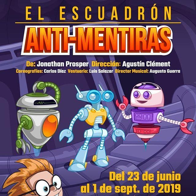 Photo of Estreno de 'El Escuadrón Anti-Mentiras' en Teatro Aba