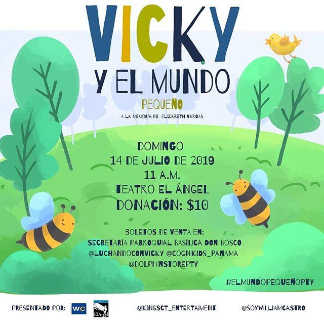 Photo of Teatro el Ángel presentara '»Vicky y el mundo pequeño»