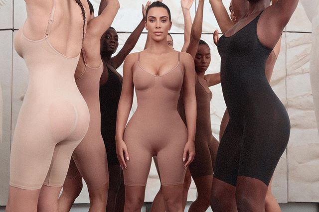 Photo of Kim Kardashian presenta su línea de fajas 'Kimono Solutionwear'