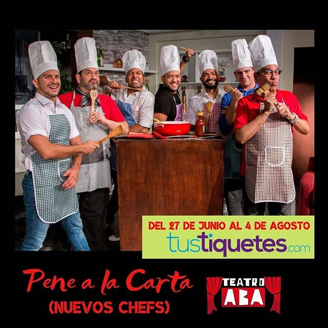 Photo of Estreno de la obra «Pene a la carta, Nuevos Chefs»