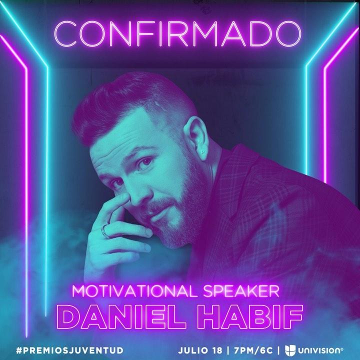 Photo of Daniel Habif estará en Premios Juventud