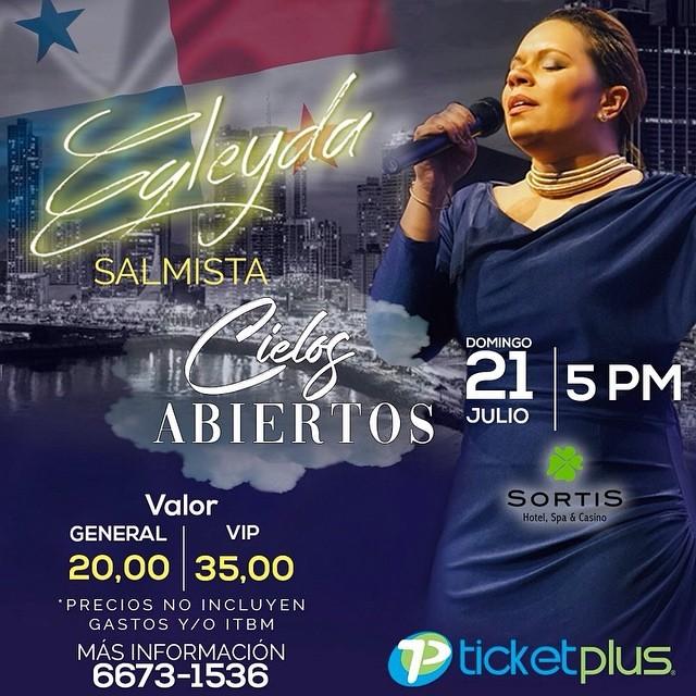 Photo of Egleyda Belliard en concierto