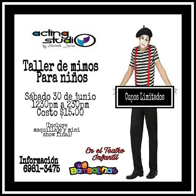 Photo of 'Taller de Mimos' en Teatro Bambalinas