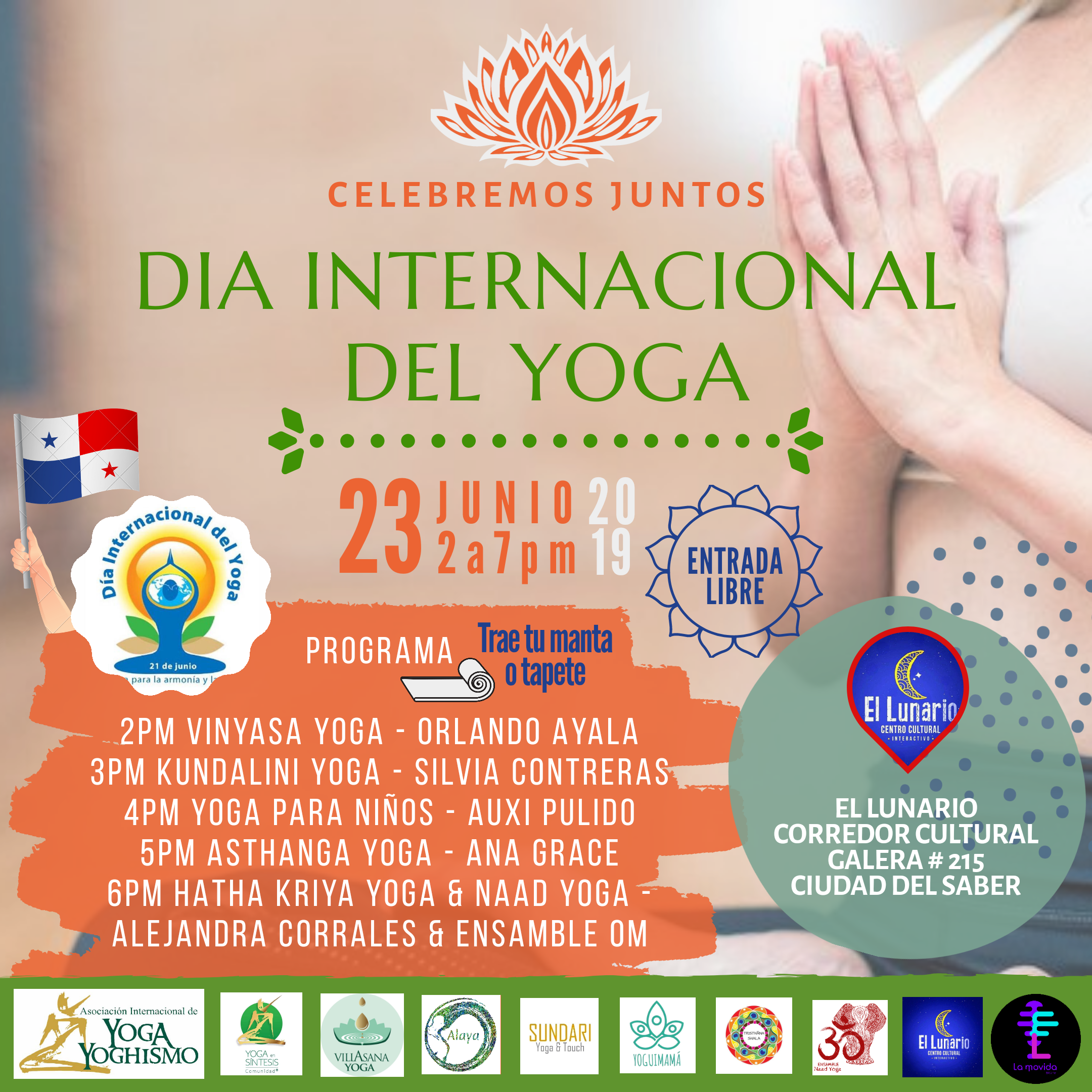 Photo of Panamá te invita a celebrar 'El Día Internacional Del Yoga 2019´