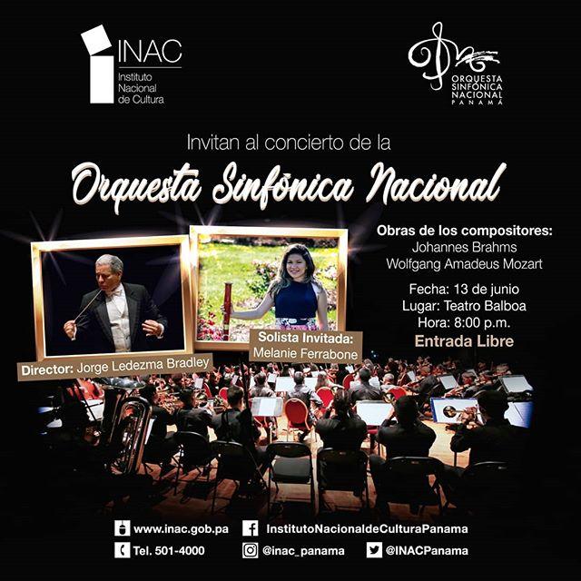 Photo of Concierto de la Orquesta Sinfónica Nacional Panamá
