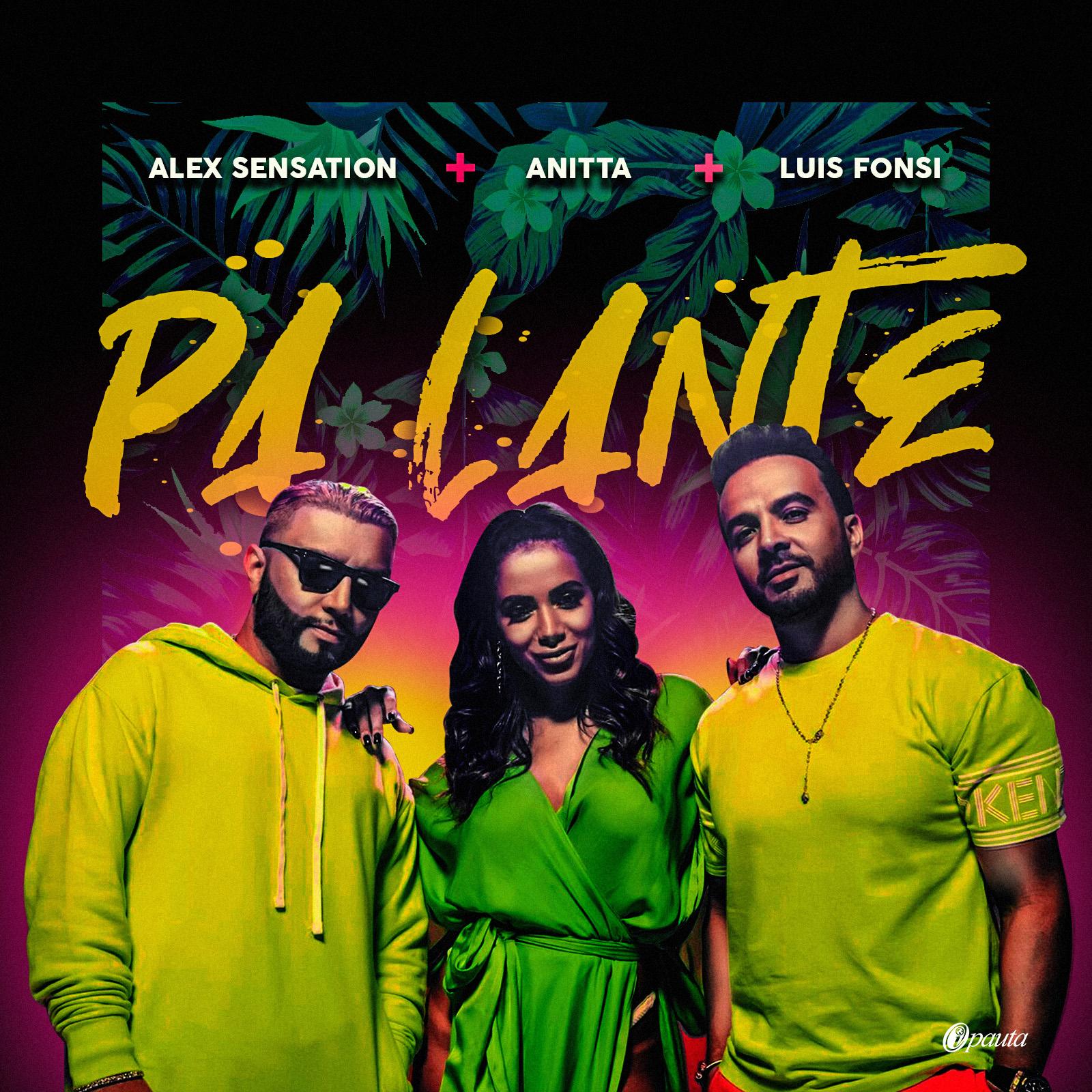 Photo of Luis Fonsi, Alex Sensation y Anitta se unen para el nuevo single «Pa'lante»