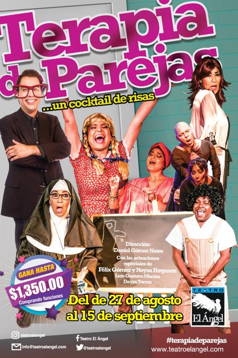 Photo of Próximamente «Terapia de Parejas» en Teatro el Ángel