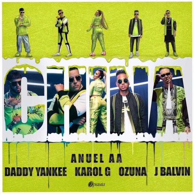 Photo of El single 'China' es lo nuevo de Daddy Yankee, Anuel AA, Karol G, Ozuna y J Balvin