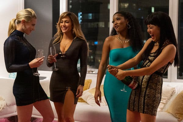 Photo of Hustlers presenta trailer con Jennifer Lopez