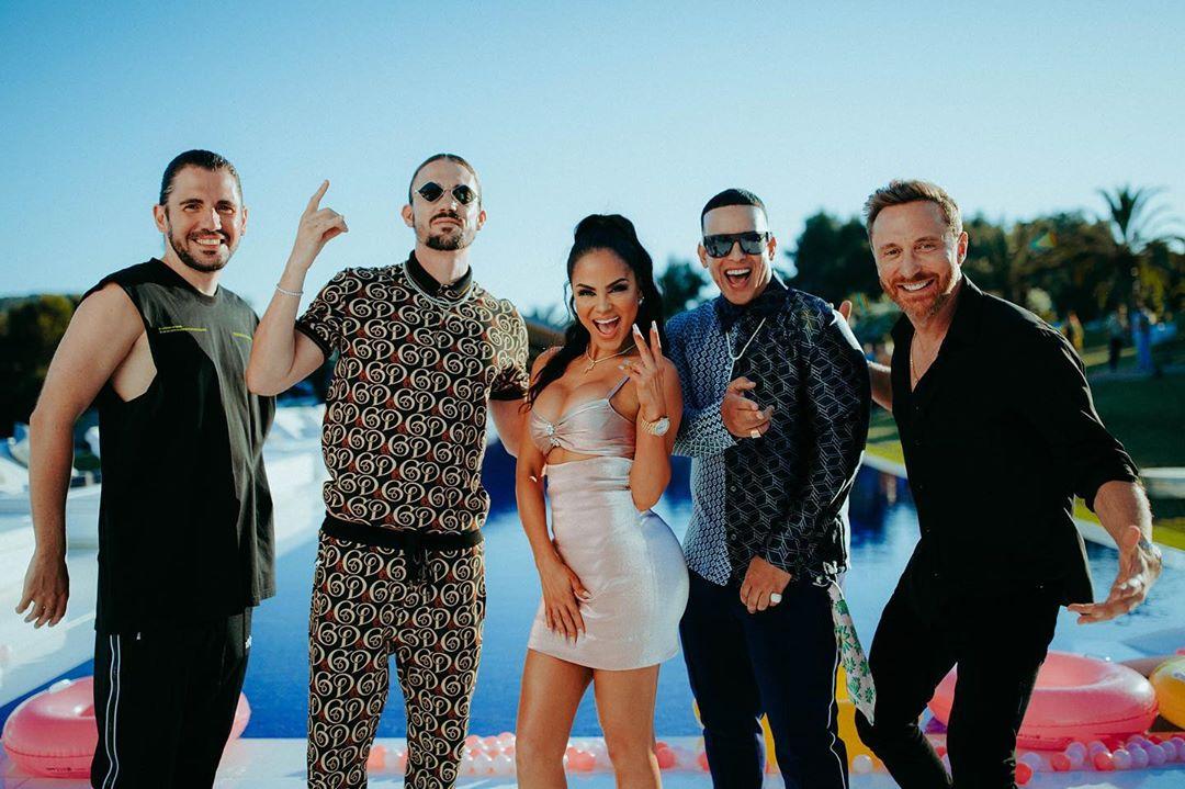 Photo of Daddy Yankee, Natti Natasha, David Guetta, Dimitri Vegas y Like Mike estrenan 'Instagram'