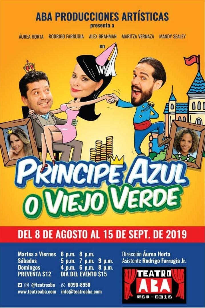 Photo of Teatro Aba anuncia la nueva obra 'Príncipe Azul o Viejo Verde'