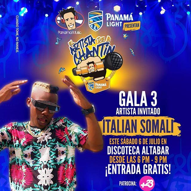Photo of Italian Somali en la Tercera Gala del 'Artista De La Chantin'