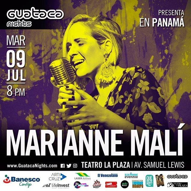 Photo of Concierto de Marianne Malí en Guataca Nights Panamá