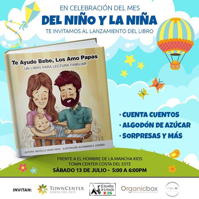"""Photo of Lanzamiento del libro """"Te ayudo Bebe, Los Amo Papas"""""""