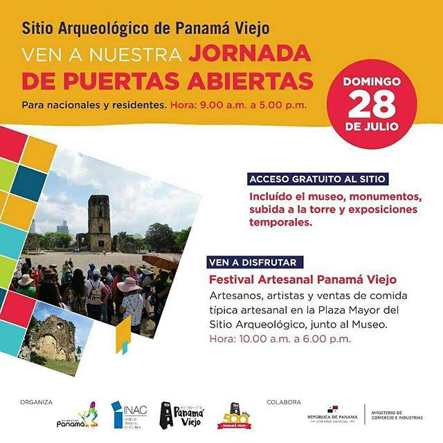 Photo of Jornada de puertas abiertas de Arqueológico de Panamá Viejo