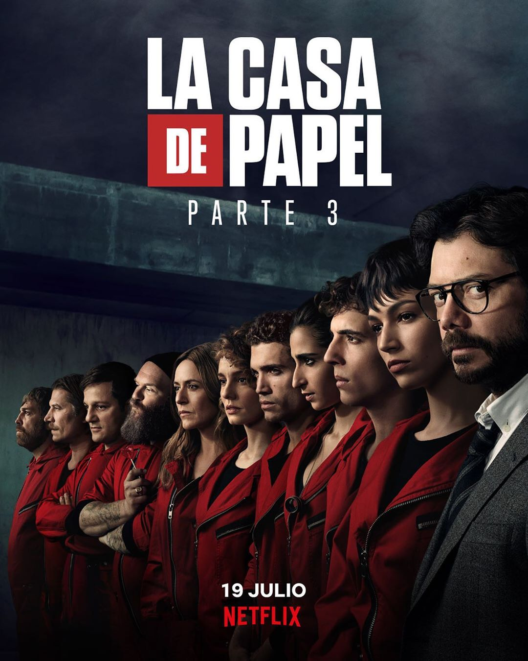 Photo of Faltan pocos días para el estreno de la 3ra. Temporada 'La Casa de Papel'