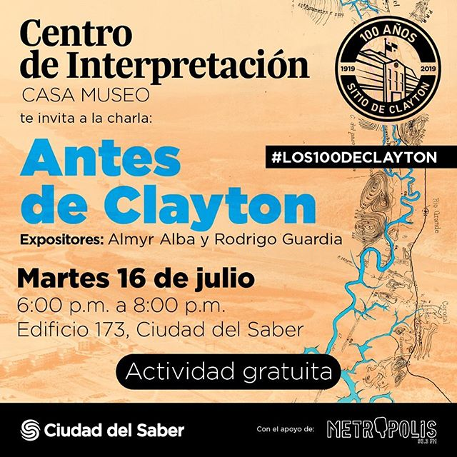 Photo of Ciudad del Saber presenta 'Charla: Antes de Clayton'