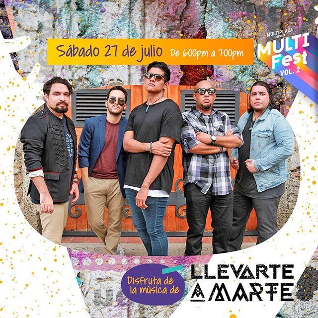 Photo of Musti Fest Vol.2 presenta a 'Llevarte A Marte' en concierto en Multiplaza