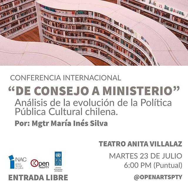 Photo of Conferencia de cierre de nuestro 1er Diplomado de  Gestión Cultural en Panamá