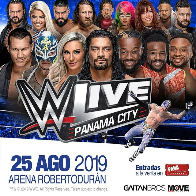 Photo of Conoce las superestrellas que estarán en la WWE Panamá 2019