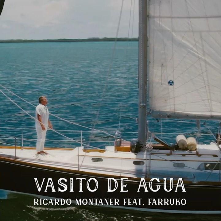 Photo of Ricardo Montaner junto a Farruko 'Vasito de Agua'