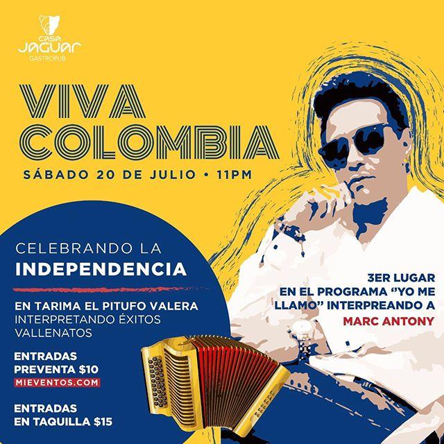 Photo of Pitufo Valera en concierto con lo mejor del vallenato