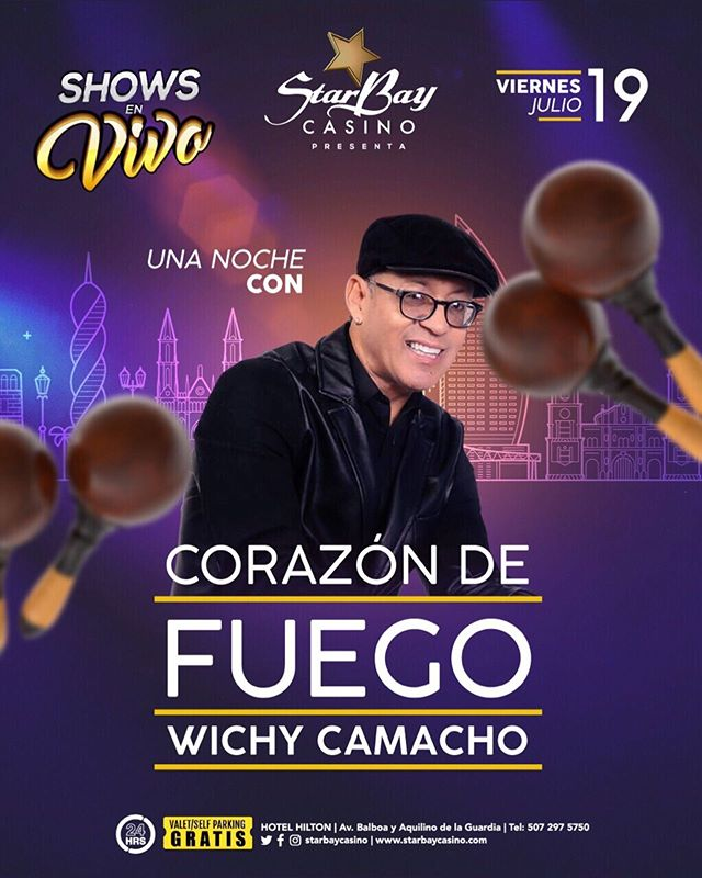Photo of Show en vivo con Wichy Camacho en Starbay Casino