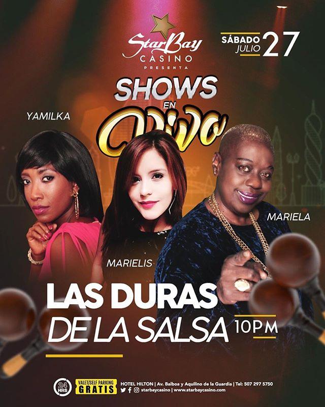 Photo of Show en Vivo de 'Las Duras de la Salsa' en Starbay Casino