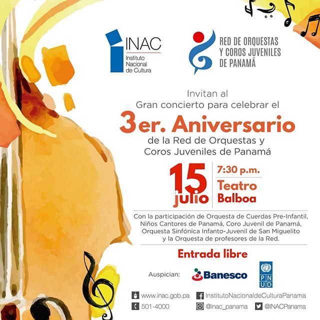 Photo of Concierto de 'La Red de Orquestas y Coros Juveniles de Panamá'